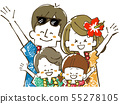 Family Travel-Resort-Smile 55278105