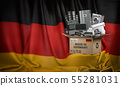 Household appliances made in Germany.  55281031
