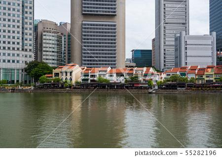 新加坡都市風景船鑰匙 55282196