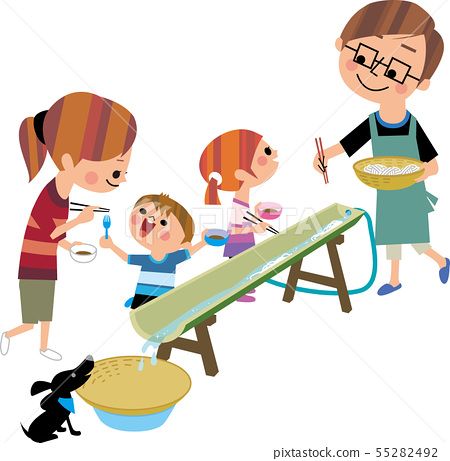 Family noodles in the family 55282492