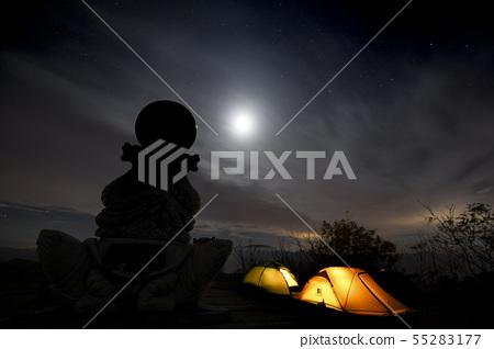 한국의 산 풍경 55283177