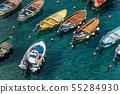 Vernazza harbor with small boats - Liguria Italy 55284930