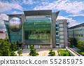 일본 도쿄 도시 풍경 일본 과학 미래관 등을 원하는 55285975