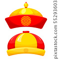 Chinese traditional hat 55293603