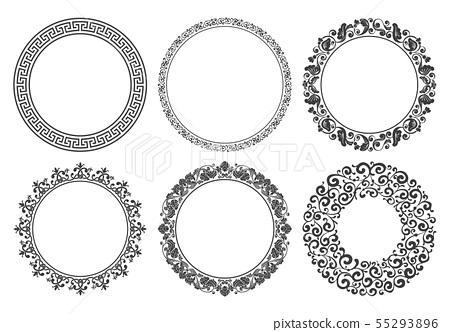 Vintage Round Frame Set 55293896