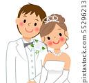 新娘和新郎 55296213