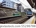 Trains and Homes JR Chuo Line Nishikokubunji Station 55296788