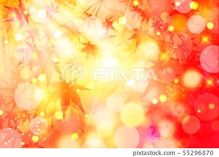 Autumn leaves maple leaf background 55296870
