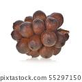 Salak snake fruit isolated on white background 55297150