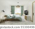 床 床鋪 臥室 55300496