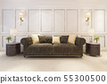 scandinavian style living room with sofa  55300500