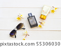 cosmetics and accessories of woman relax summer  55306030