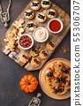 Scary appetizers for Halloween party 55306707