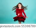 Grace, beauty, fashion 55306789