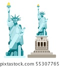 selection statue of independence america flat 55307765