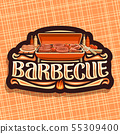 Vector logo for Barbecue 55309400