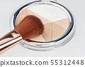 Close-up of makeup brush 55312448