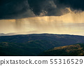 Summer Storm and Rain On Mountains In Spain 55316529