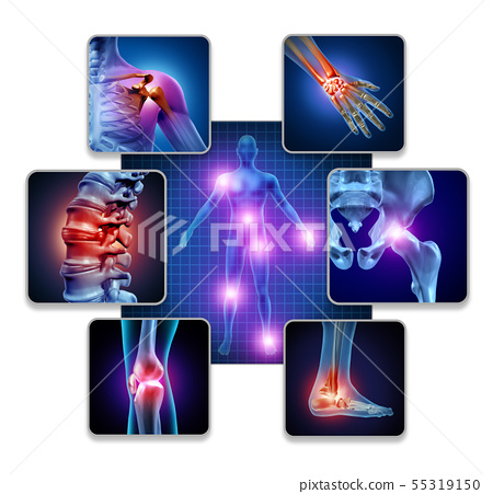 Human Body Joint Pain 55319150