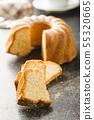 Sweet bundt cake. 55320665