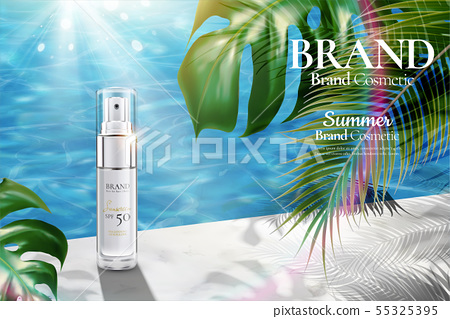 Cosmetic spray bottle ads 55325395