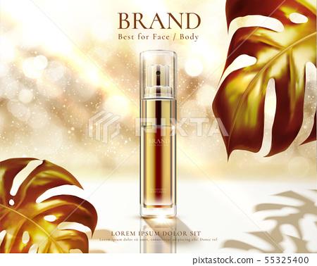 Cosmetic spray bottle ads 55325400