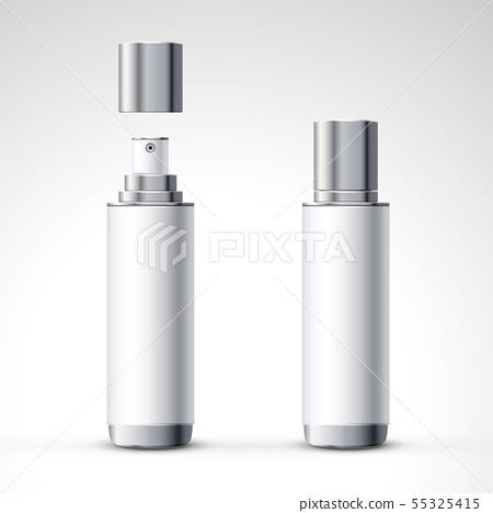 White spray bottle package design 55325415