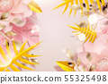 開花 花 向量 55325498