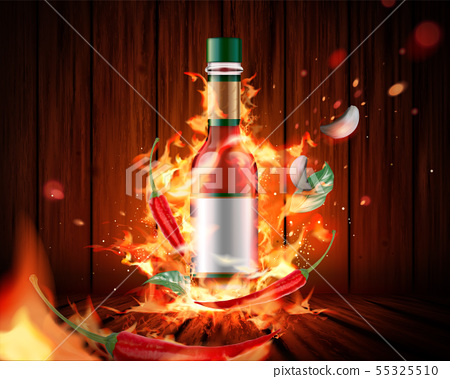 Hot sauce product 55325510