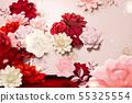 꽃, 화초, 종이 55325554