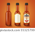 Hot sauce product container 55325799
