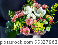 nice bouquet in the hands 55327963