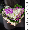 nice bouquet in the hands 55327968