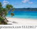 海岸勝地海灘海沙海灘sakihara海灘奄美大島阿丹暑假 55329617