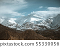 Snow Mountain View of Leh Ladakh District ,Norther 55330056