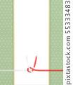 배경 - 일본 - 일본식 - 일본식 디자인 - 종이 - 녹색 - 정사각형의 색종이 55333483