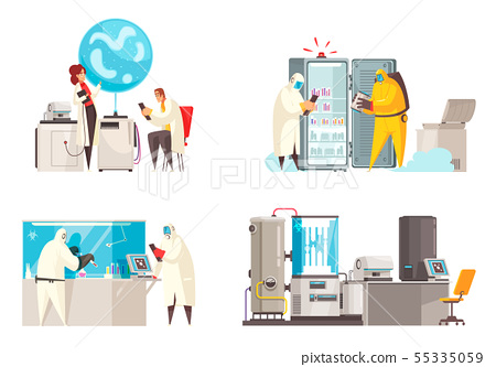 Microbiology Lab Design Concept 55335059