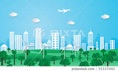 City landscape of ecology and environment 55337482