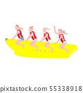 바나나 보트 여성들 55338918