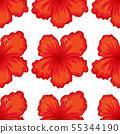 無縫的 花朵 花 55344190