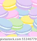 이어지는 완벽한 소재 마카롱 다채로운 55346779