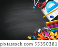 Back To School Background 55350381
