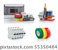 Automatic circuit breakers, insulation tape, 55350464