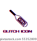 Thermometer icon flat. 55352809