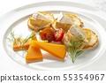 美味的奶酪拼盤 55354967