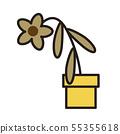 枯萎的花朵 55355618