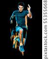 Runner, Man, Running 55355668