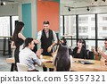 Business People Teamwork are Meeting Conference 55357321