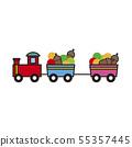 도토리 기차 55357445
