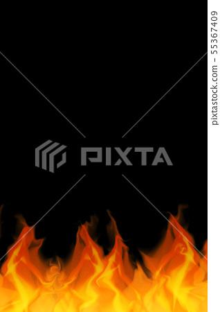 火焰背景材料的例證 55367409